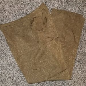Judith Hart olive silk pants size 10